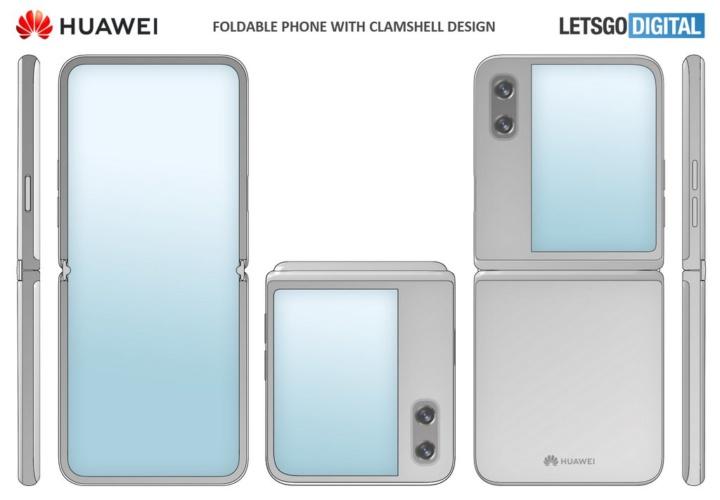 Huawei regista patente de flip phone com ecrã dobrável