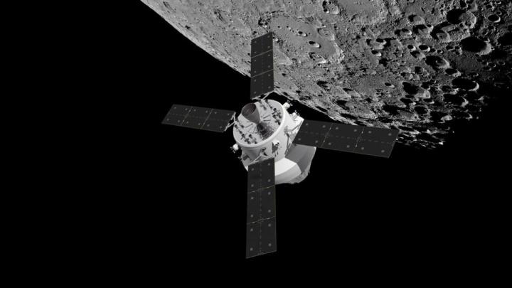 Imagem de Orion, a próxima nave espacial da NASA