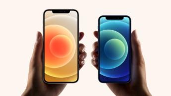 Imagem iphone 12 Pro Max e iPhone 12 Mini