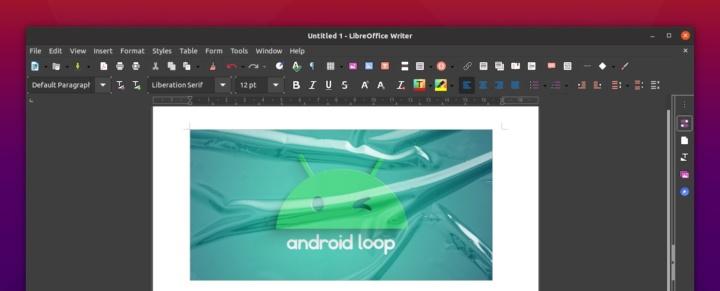"""LibreOffice tem um novo """"look"""" no Linux Ubuntu 20.10"""