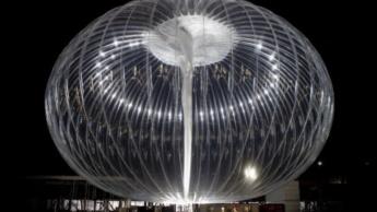 Balão estratosférico de Internet