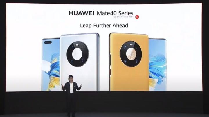 Chegou o Huawei Mate 40 - o primeiro que irá receber HarmonyOS