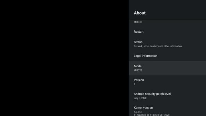 Mi Box 3 Android 9 Xiaomi novidades utilizadores