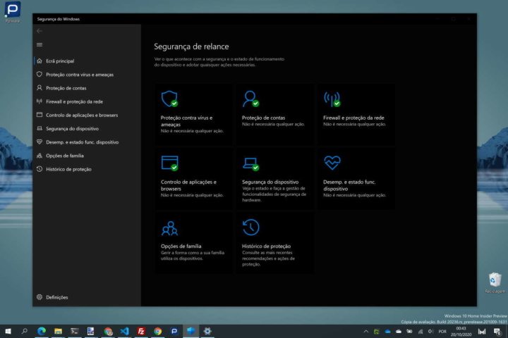 Microsoft Defender Windows 10 segurança AV-TEST