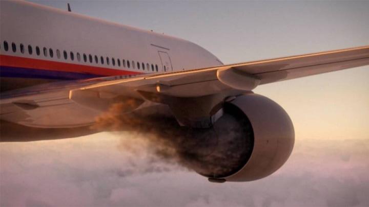 Poluição no setor da aviação