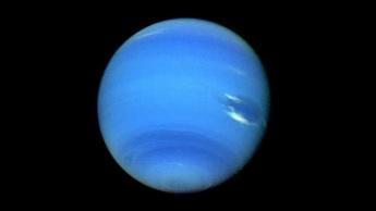 Imagem de Neptuno tirada pela Voyager 2 em 1989