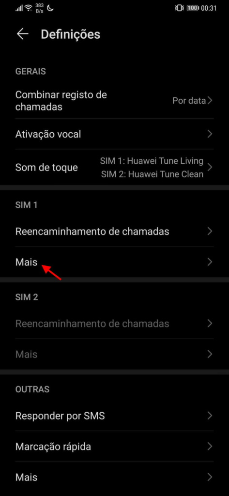 Android chamadas número telefone smartphone
