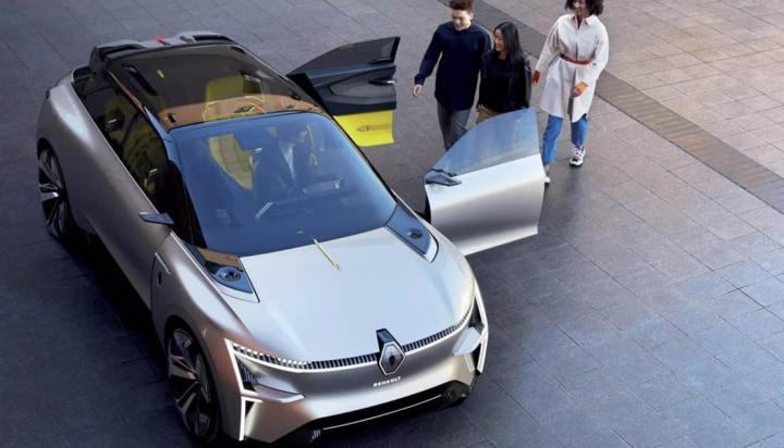Imagem concept Renault Elétrico Morphoz