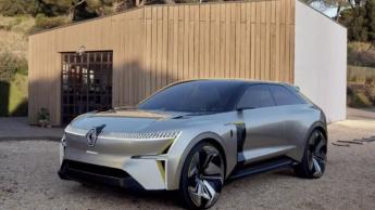 Imagem do protótipo Morphos que será inspiração para o novo SUV da Renault