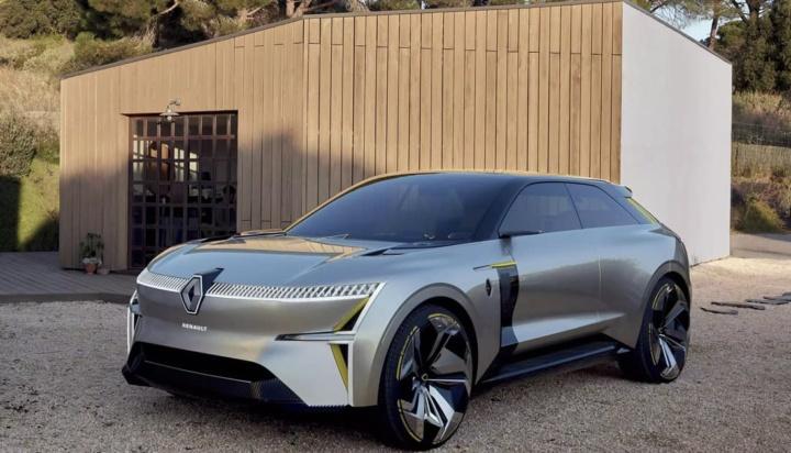 Imagem do protótipo Morphoz que será inspiração para o novo SUV da Renault