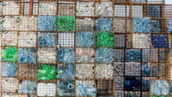 Resíduos de plástico