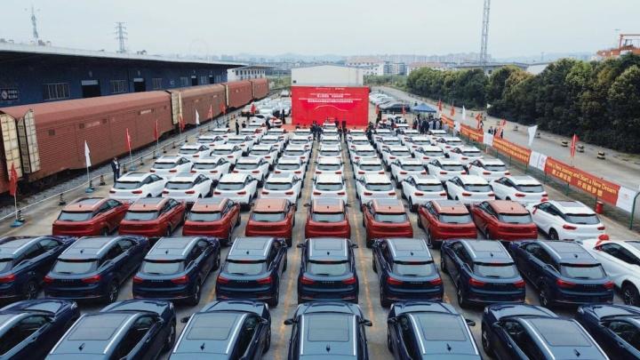 Imagem 200 SUVs SERES 3 elétricos para o mercado alemão