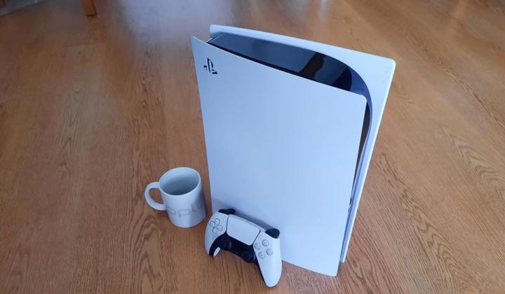 Imagem da consola Sony Playstation 5