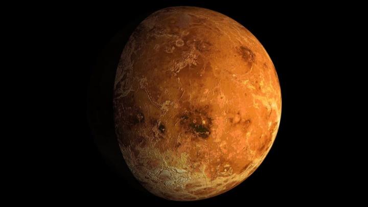 Imagem Vénus que foi influenciado por Júpiter