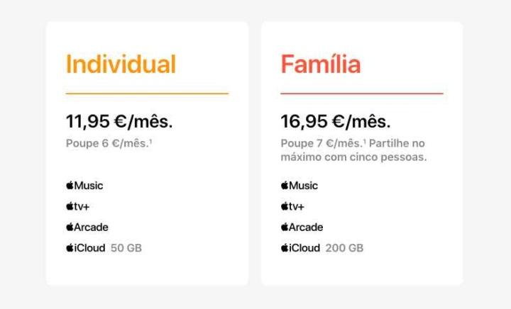 Apple One chegou a Portugal! Está disposto a pagar 11,95 €/mês?