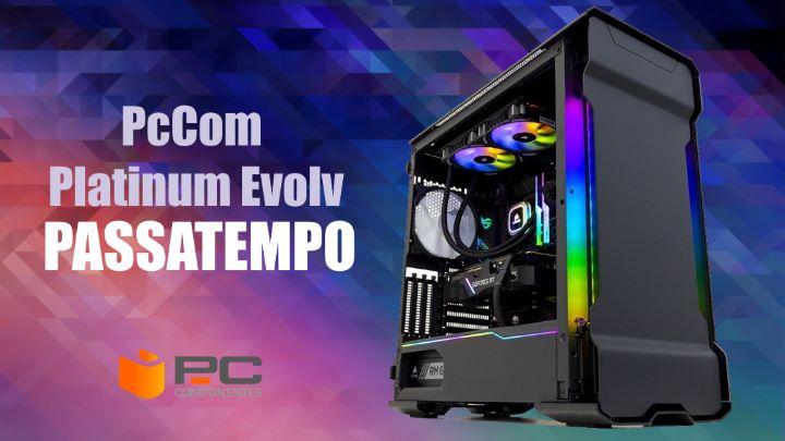 Passatempo: Ganhe um incrível PC Gaming PcCom Platinum Evolv