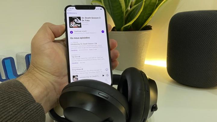 Imagem podcasts Wondery que a Apple e a Sony querem comprar