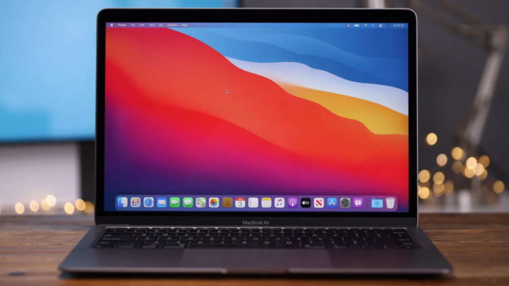 Imagem Macbook Air com macOS Big Sur