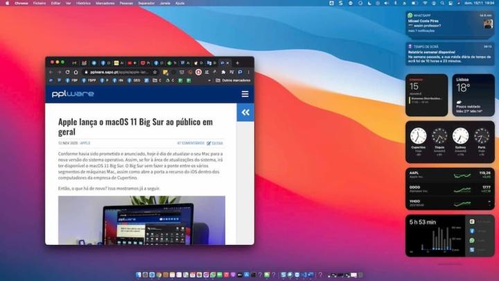 MacOS Big Sur: Cuidado se tem um MacBook Pro mais antigo