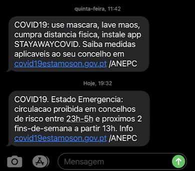Proteção Civil volta a enviar SMS! A situação do país é muito grave