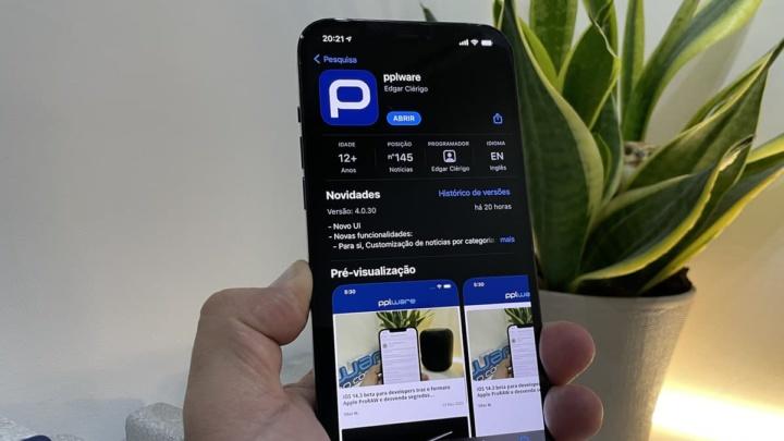 Imagem App Store app pplware