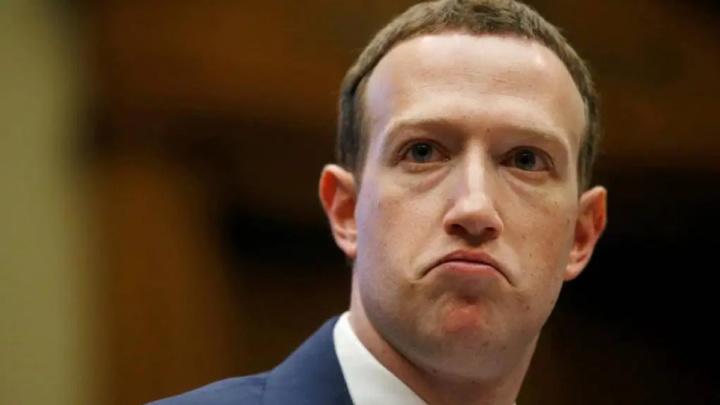 Imagem do CEO do Facebook, Mark Zuckerberg