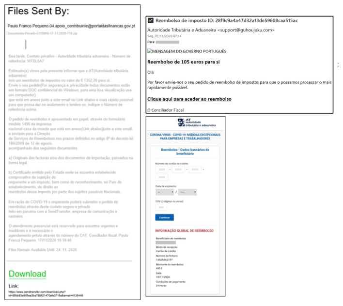 ALERTA: Não abra os e-mails fraudulentos em nome das finanças