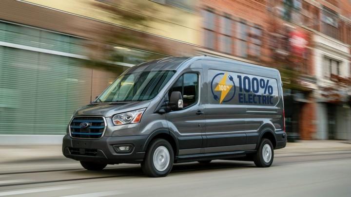 Ford E-Transit 100% elétrica chega à Europa na primavera de 2022