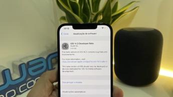 Imagem iOS 14.3 beta da Apple