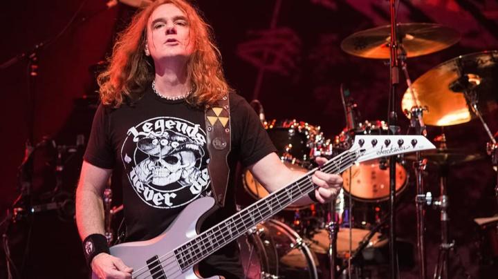 Imagem David Ellefson da banda Megadeth