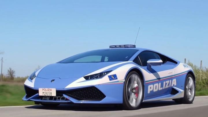 Polícia entrega rim num Lamborghini a mais de 230 km/h