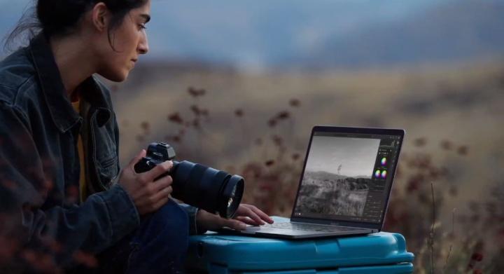 """Imagem do portátil MacBook Pro 13"""" da Apple com chip M1"""