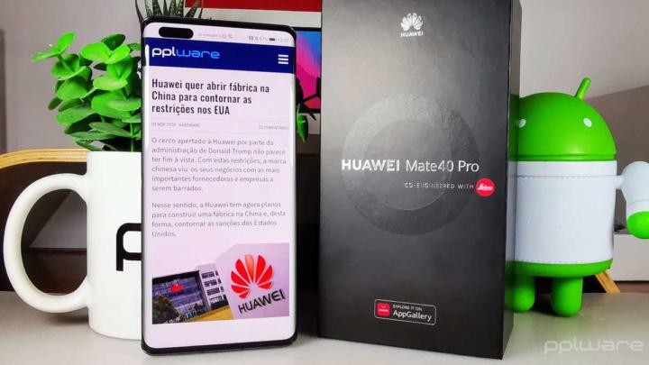 Mate 40 Pro Huawei smartphone fotografia