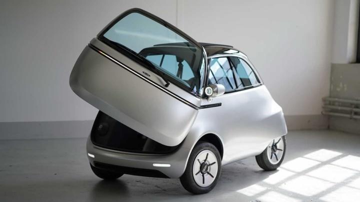 Imagem Microlino 2.0: minicarro elétrico