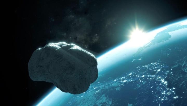 Ilustração mini lua da Terra