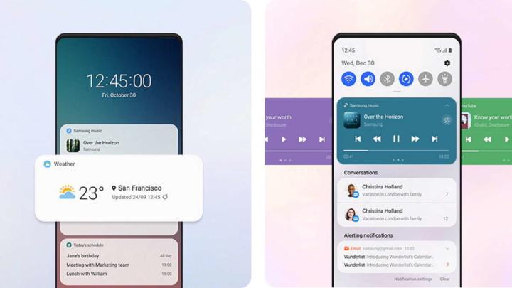 Samsung One UI 3.0 atualização novidades interface
