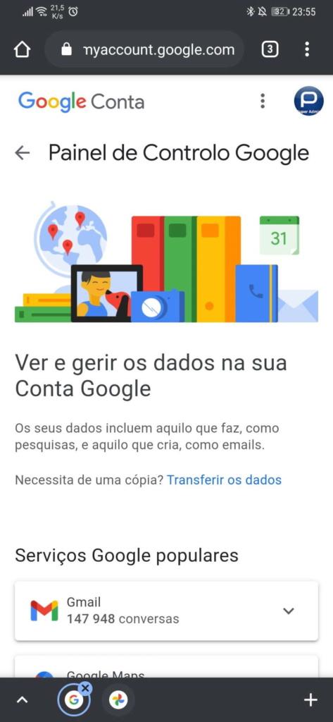 Google Fotos imagens vídeos espaço