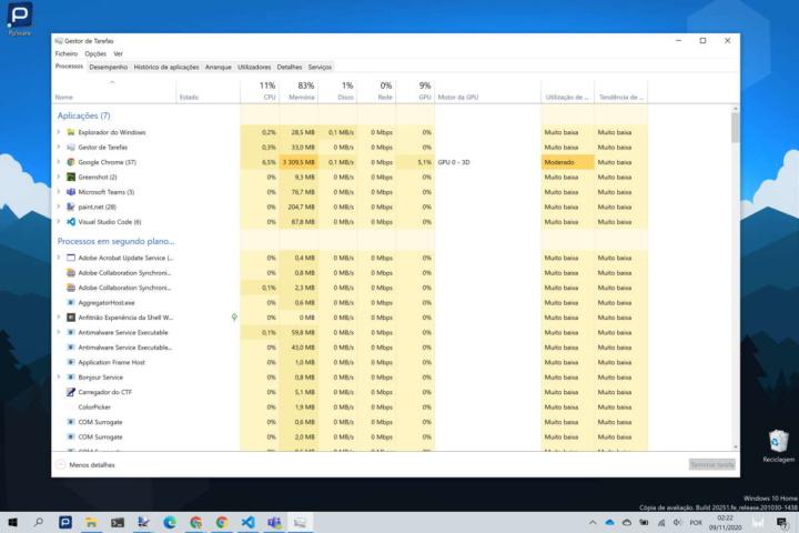 Windows 10 desempenho atualizações problemas Microsoft