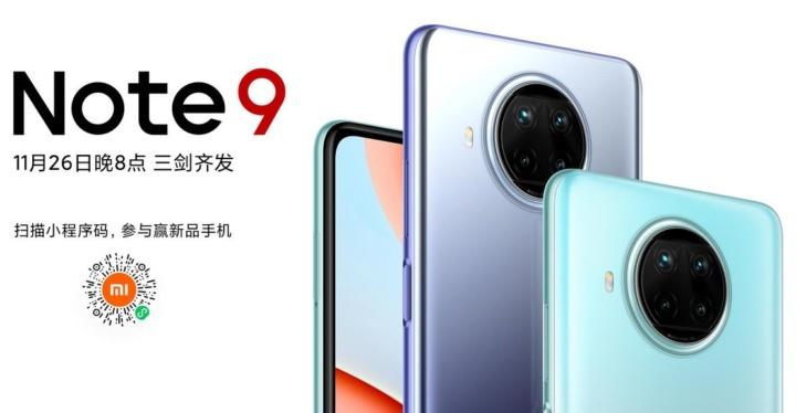 É oficial: novos smartphones Redmi Note 9 chegam na próxima semana