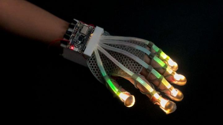 Sensor de ampliação para sensações humanas