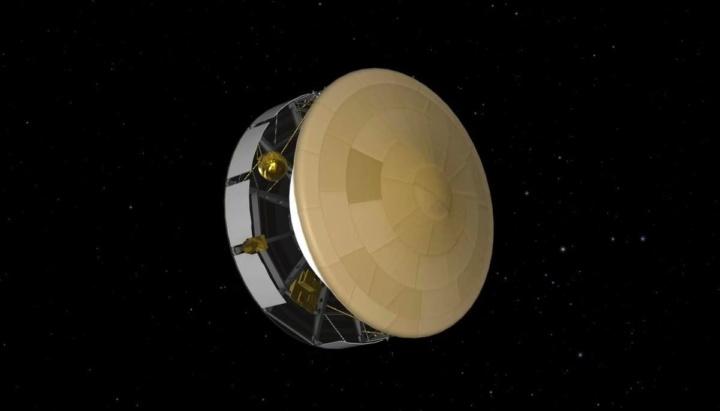 Imagem do som que a NASA divulgou da Perseverance que viaja para Marte