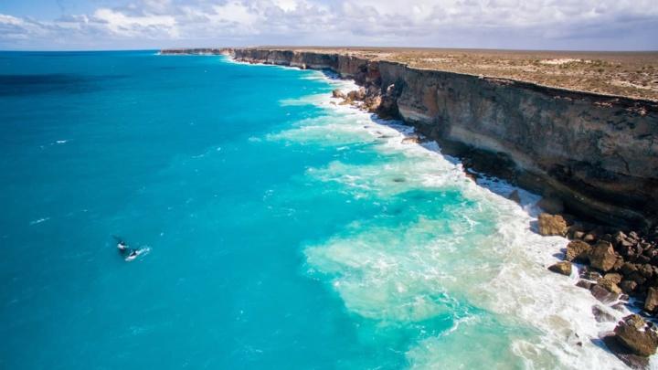 Imagem de um local no Golfo da Guiné que se chama Bight of Bonny e será de lá que vem o abalo