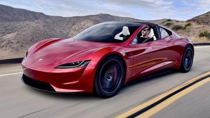 Tesla lançará cores especiais para o novo supercarro elétrico Roadster