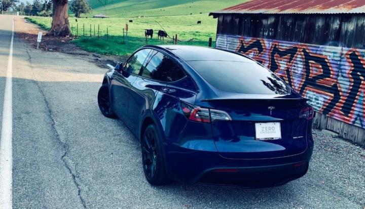 Imagem Tesla Model Y na China