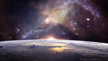 Imagem da nossa galáxia onde poderão existir planetas com vida