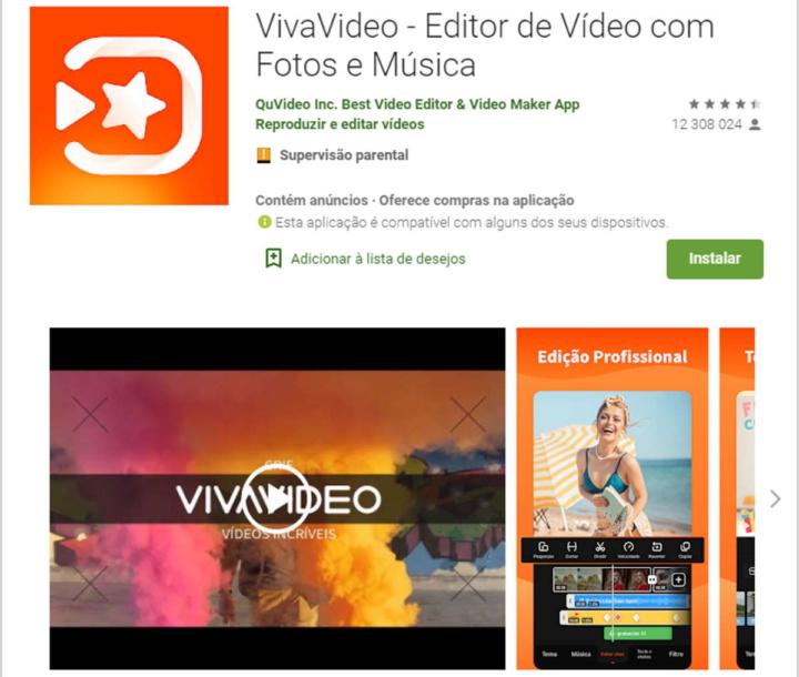 Android Google VivaVideo malware problema
