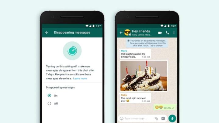 WhatsApp mensagens desaparecem Facebook novidade