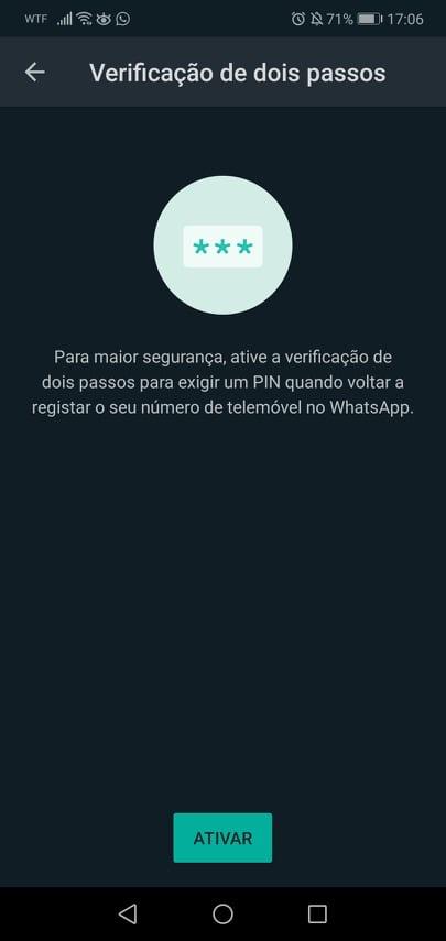 Imagem WhatsApp com segurança