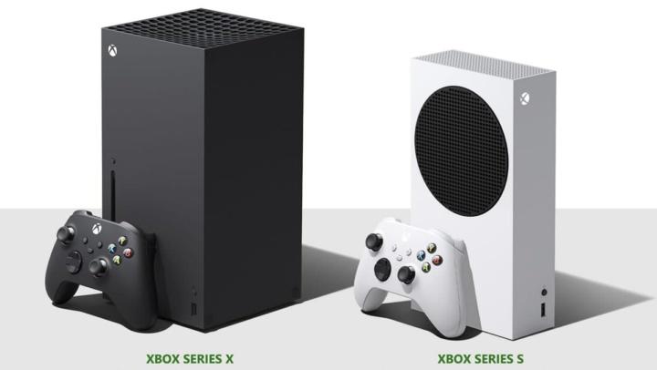Imagem das novas consola Microsoft, a XBOX Series X e Series S