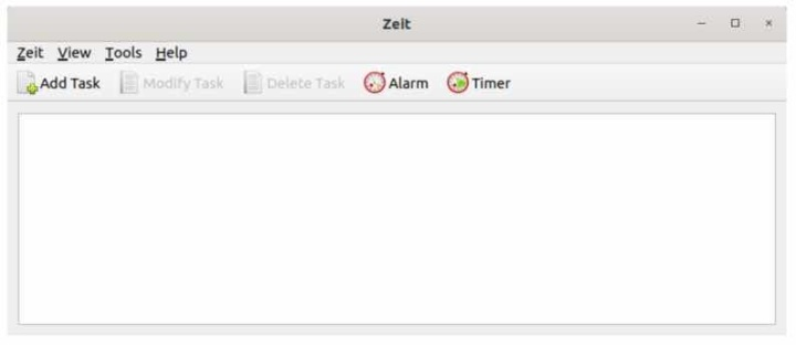 """Zeit: The graphical tool to easily manage """"cron jobs"""" on Linux"""